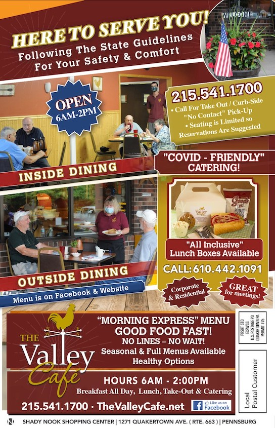 Fall is coming and The Valley Cafe is open for your breakfast and lunch needs!