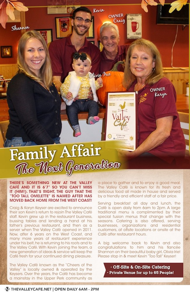 The Valley Cafe Family - article